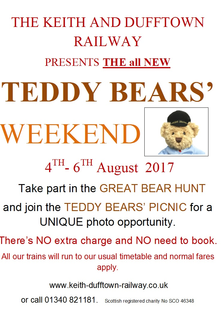 Teddy Bears Weekend